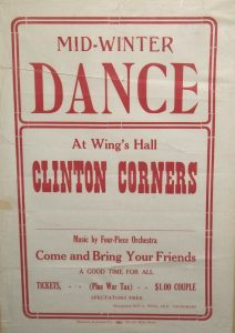 Wing's Hall Poster