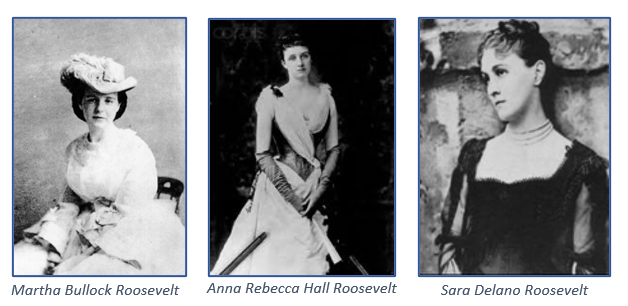 photo of three Roosevelt women