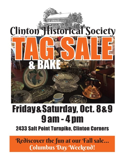 Fall Tag Sale Poster